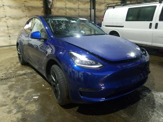Salvage cars for sale from Copart Graham, WA: 2020 Tesla Model Y