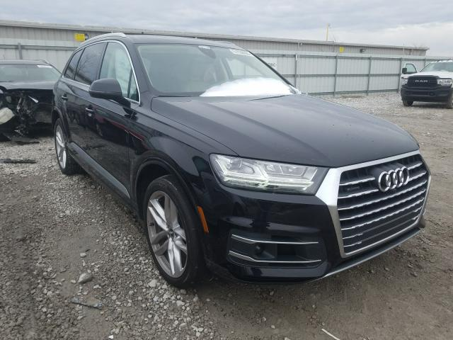 Salvage cars for sale from Copart Walton, KY: 2018 Audi Q7 Prestige