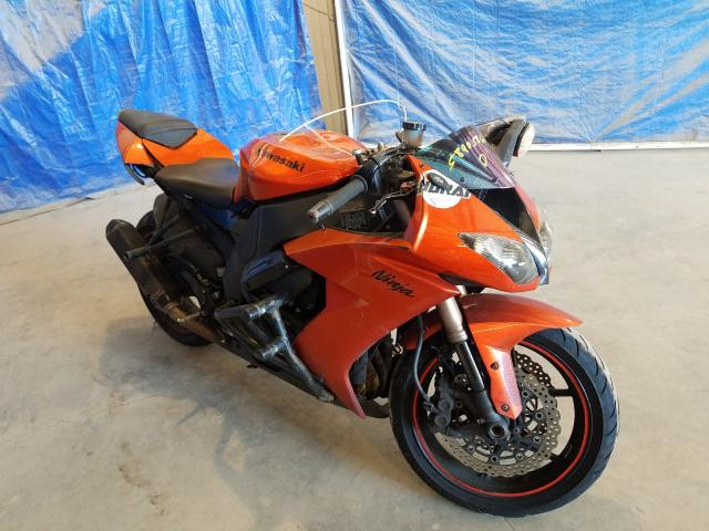 Salvage cars for sale from Copart Apopka, FL: 2009 Kawasaki ZX1000 E