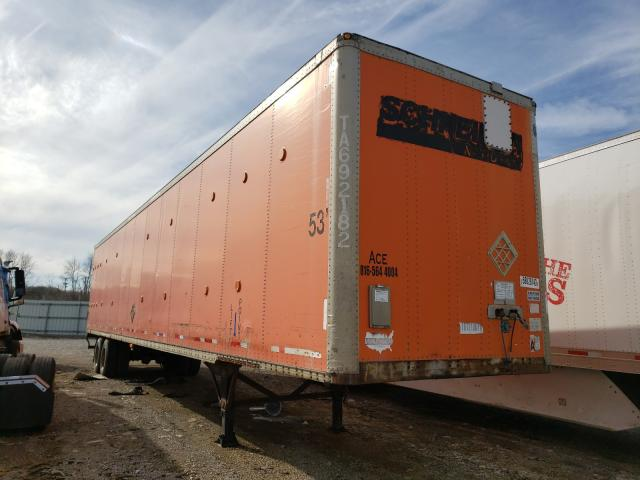 Wabash salvage cars for sale: 1999 Wabash Trailer