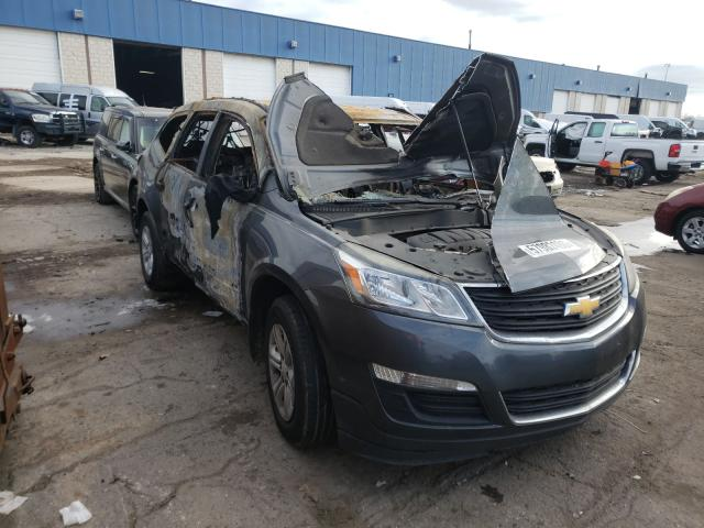 Salvage cars for sale from Copart Woodhaven, MI: 2013 Chevrolet Traverse L