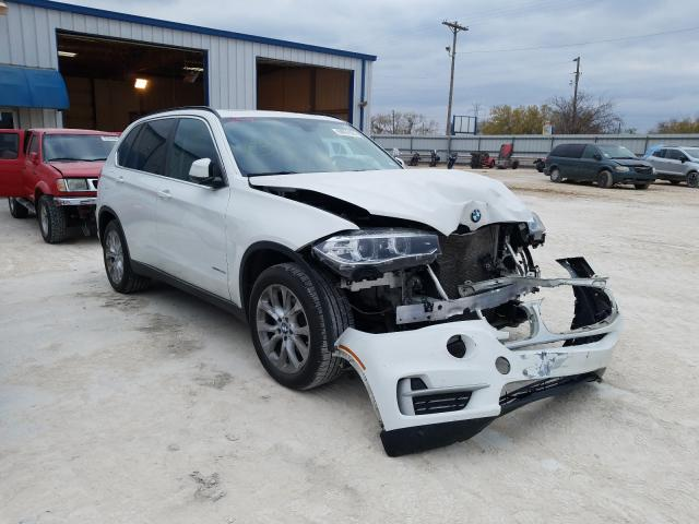 Salvage cars for sale from Copart Abilene, TX: 2016 BMW X5 SDRIVE3