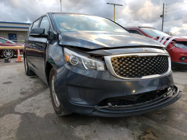 Salvage cars for sale from Copart Lebanon, TN: 2017 KIA Sedona LX