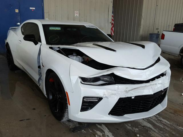 Salvage cars for sale from Copart Homestead, FL: 2018 Chevrolet Camaro SS