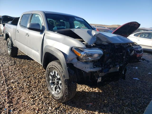 Salvage cars for sale at Magna, UT auction: 2019 Toyota Tacoma DOU