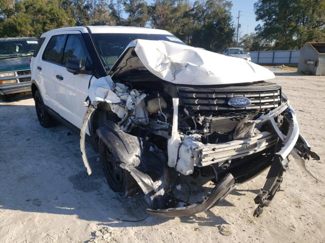 Salvage cars for sale from Copart Ocala, FL: 2017 Ford Explorer P