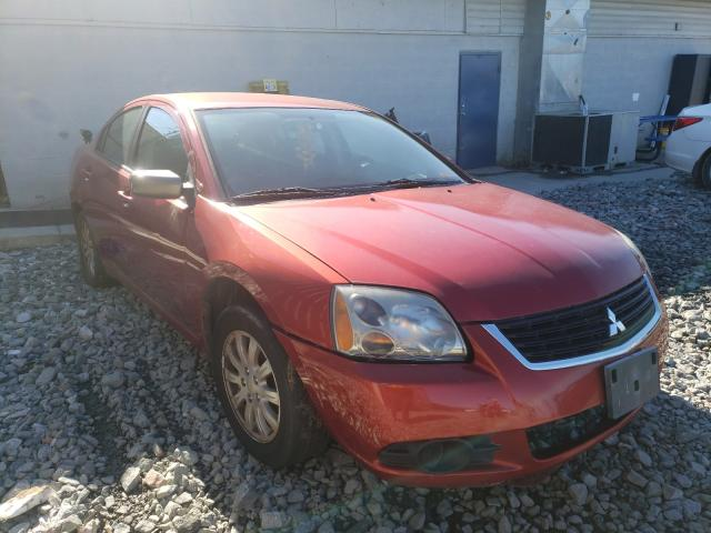 Vehiculos salvage en venta de Copart Mebane, NC: 2009 Mitsubishi Galant ES