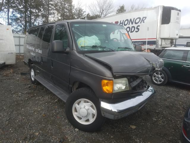 Salvage cars for sale from Copart Pennsburg, PA: 2007 Ford Econoline