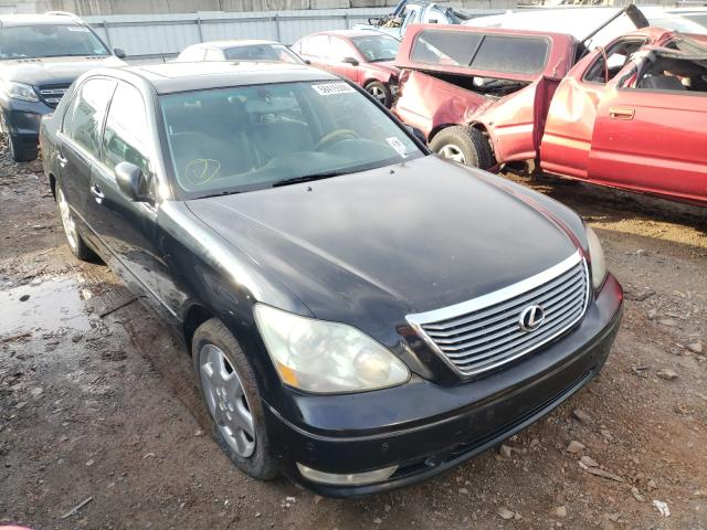 Salvage cars for sale from Copart Hillsborough, NJ: 2004 Lexus LS 430