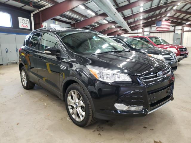 Salvage cars for sale from Copart East Granby, CT: 2013 Ford Escape SEL