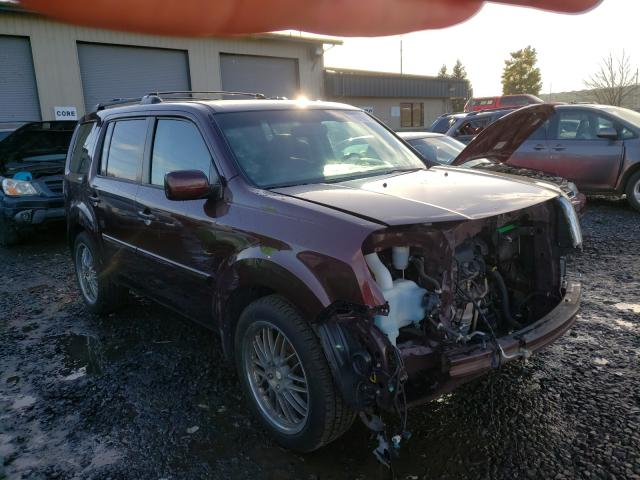 Salvage cars for sale from Copart Eugene, OR: 2010 Honda Pilot