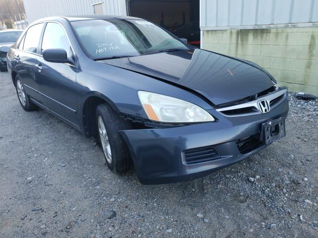 Salvage cars for sale from Copart Hampton, VA: 2006 Honda Accord EX