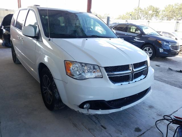 Salvage cars for sale from Copart Homestead, FL: 2017 Dodge Grand Caravan