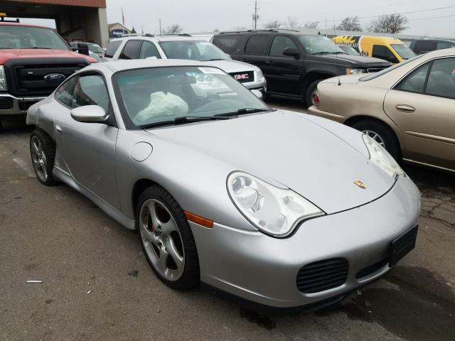Porsche salvage cars for sale: 2003 Porsche 911 Carrer