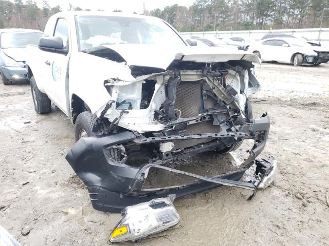 Salvage cars for sale from Copart Ellenwood, GA: 2018 Toyota Tacoma ACC