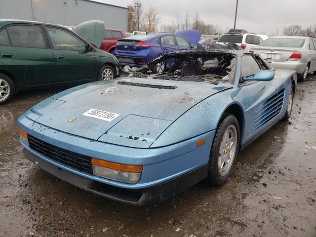 1989 Ferrari Testarossa 4 9l Gas Blue للبيع Portland Or A Better Bid