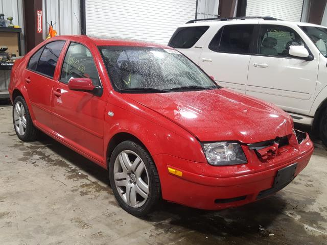 Volkswagen Jetta GLX salvage cars for sale: 2002 Volkswagen Jetta GLX