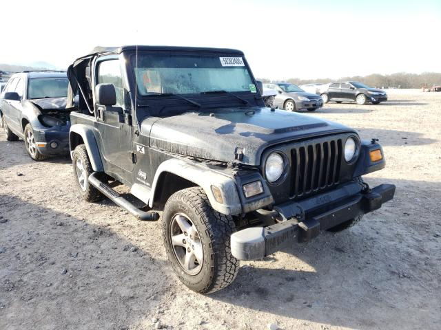 Salvage cars for sale at Madisonville, TN auction: 2004 Jeep Wrangler X