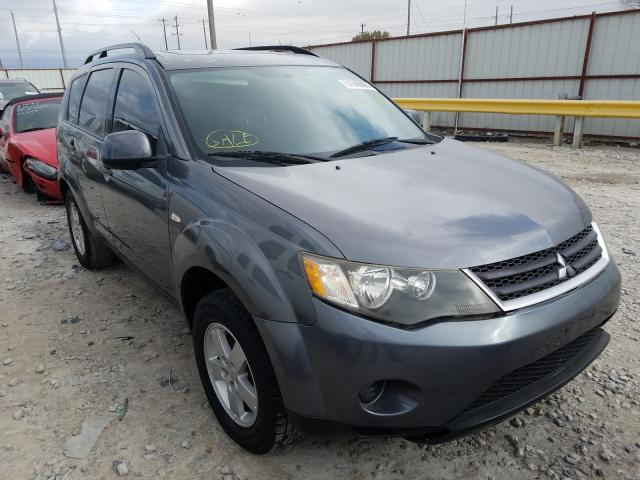 Salvage cars for sale from Copart Haslet, TX: 2007 Mitsubishi Outlander