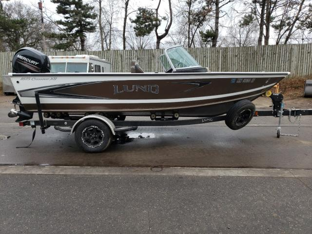 Lund Boat salvage cars for sale: 2019 Lund Boat