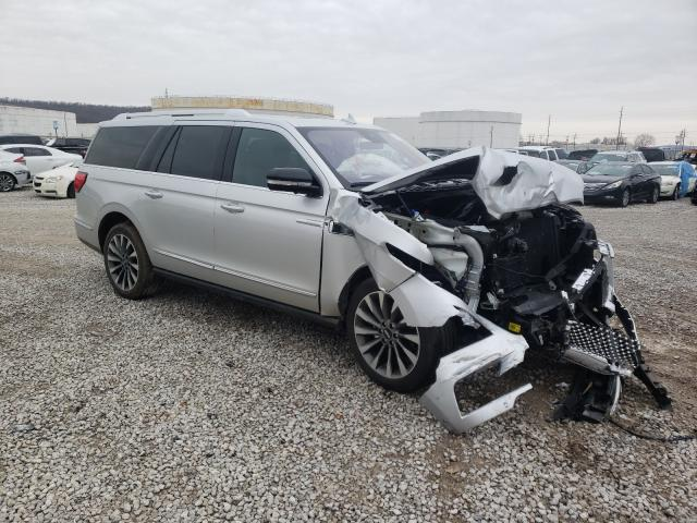 Salvage cars for sale from Copart Tulsa, OK: 2019 Lincoln Navigator