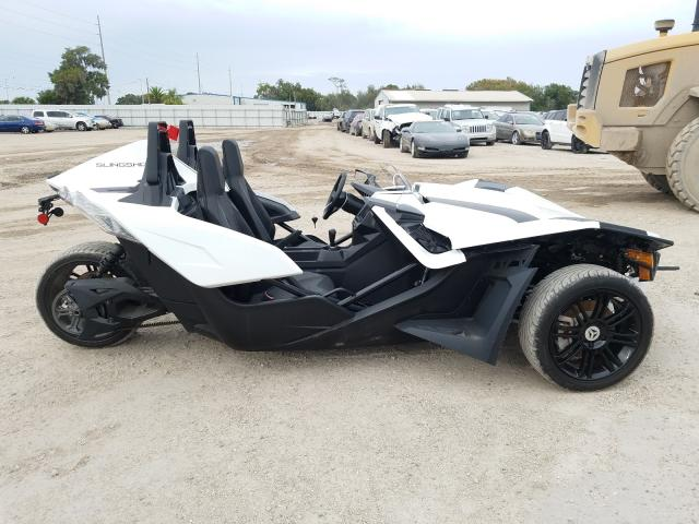 Salvage cars for sale from Copart Riverview, FL: 2019 Polaris Slingshot