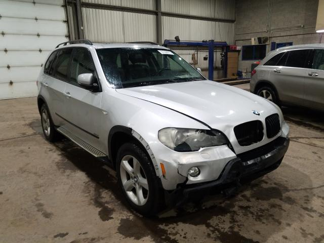 Salvage cars for sale from Copart Montreal Est, QC: 2007 BMW X5 3.0I