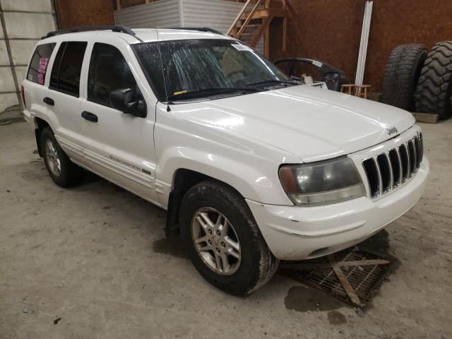 Salvage cars for sale from Copart Ebensburg, PA: 2004 Jeep Grand Cherokee