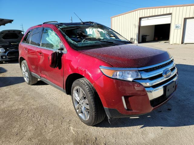 Salvage cars for sale from Copart Temple, TX: 2013 Ford Edge Limited
