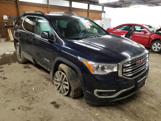 Salvage cars for sale from Copart Ebensburg, PA: 2017 GMC Acadia SLE