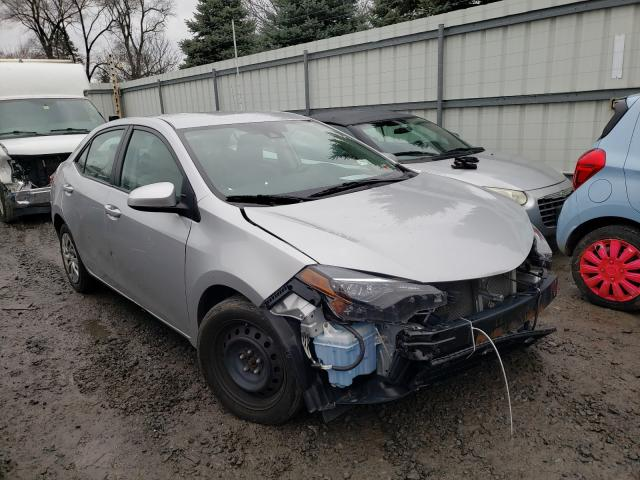 Salvage cars for sale from Copart Albany, NY: 2017 Toyota Corolla L