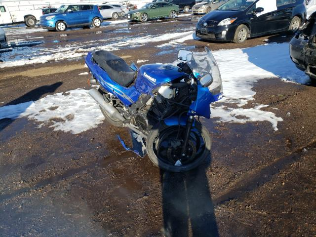 Salvage cars for sale from Copart Brighton, CO: 2009 Kawasaki EX500 D