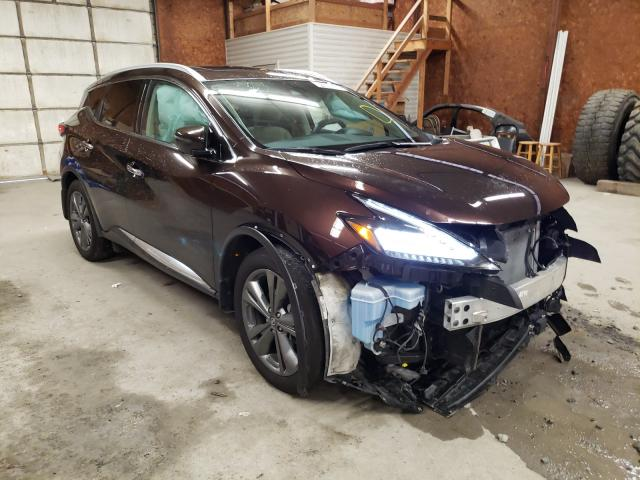 Salvage cars for sale from Copart Ebensburg, PA: 2019 Nissan Murano S