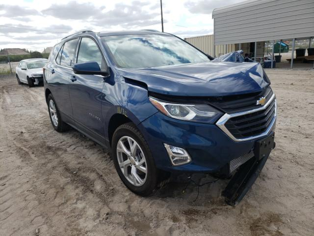 Salvage cars for sale at West Palm Beach, FL auction: 2020 Chevrolet Equinox LT