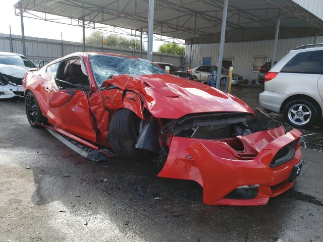 Ford Mustang GT salvage cars for sale: 2017 Ford Mustang GT