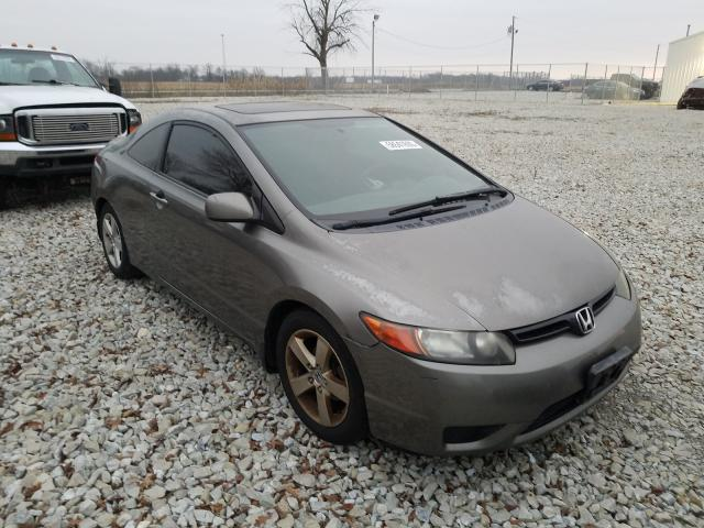 Salvage cars for sale from Copart Cicero, IN: 2008 Honda Civic EX