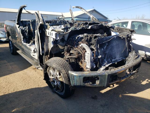 Salvage cars for sale from Copart Pekin, IL: 2016 Ford F150 Super