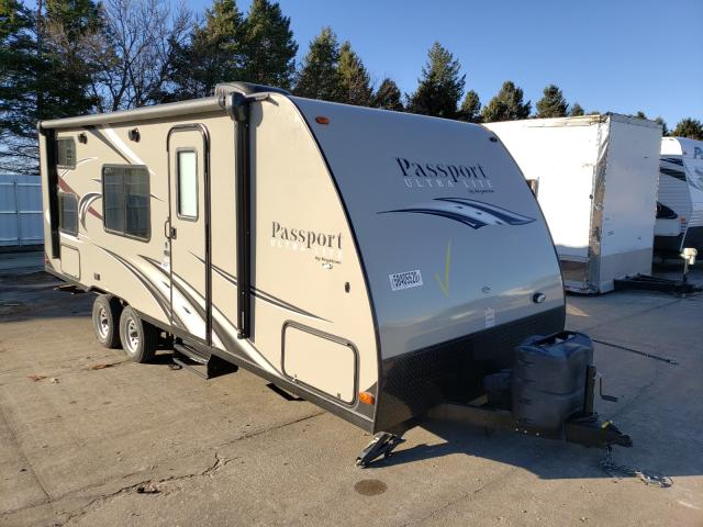 Keystone Passport salvage cars for sale: 2016 Keystone Passport