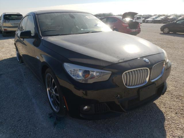 Salvage cars for sale from Copart San Antonio, TX: 2012 BMW 550 IGT