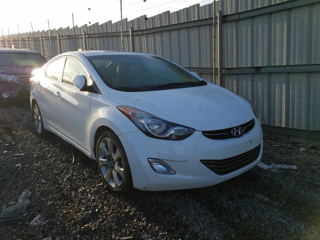 Salvage cars for sale from Copart Hueytown, AL: 2013 Hyundai Elantra GL