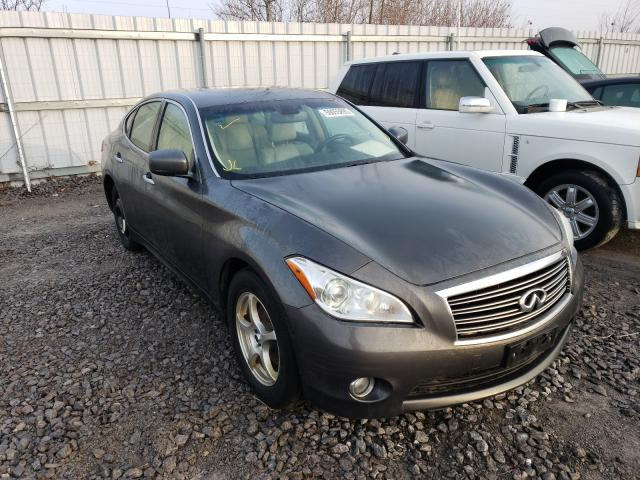 Salvage cars for sale from Copart Courtice, ON: 2011 Infiniti M56 X