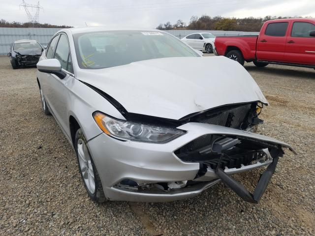 Salvage cars for sale from Copart Anderson, CA: 2018 Ford Fusion SE