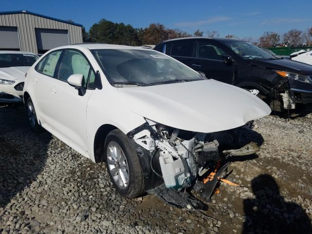 Salvage cars for sale from Copart Ellenwood, GA: 2021 Toyota Corolla LE
