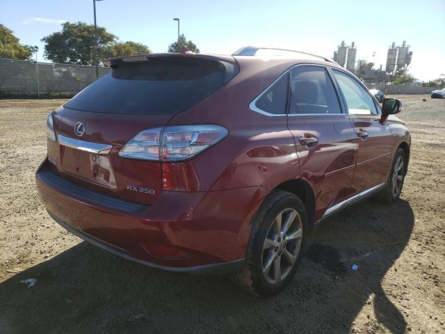 цена в сша 2010 Lexus Rx350 3.5L 2T2ZK1BA5AC002035