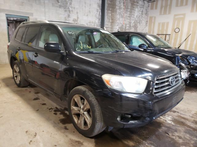 Salvage cars for sale from Copart Chalfont, PA: 2008 Toyota Highlander