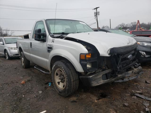Salvage cars for sale from Copart Hillsborough, NJ: 2009 Ford F250 Super