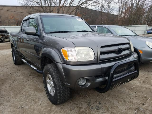 Salvage cars for sale from Copart North Billerica, MA: 2006 Toyota Tundra DOU