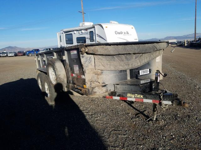 Big Dog Trailer salvage cars for sale: 2016 Big Dog Trailer