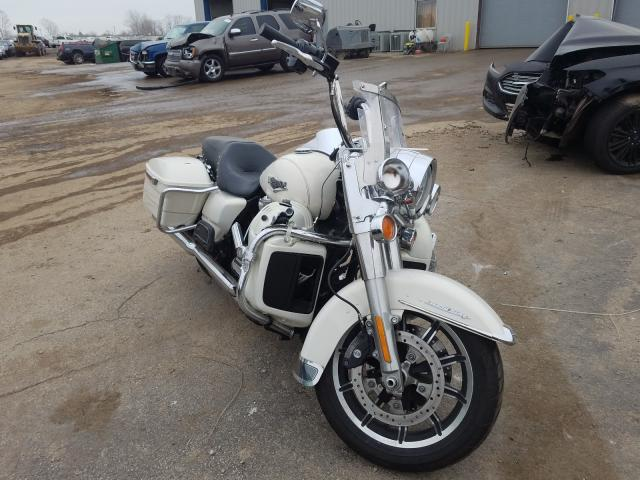 Salvage cars for sale from Copart Elgin, IL: 2015 Harley-Davidson Flhr Road