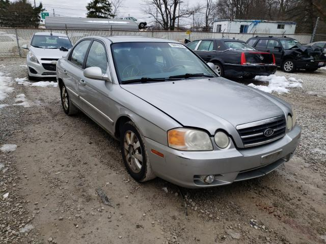 Salvage cars for sale from Copart Northfield, OH: 2004 KIA Optima LX